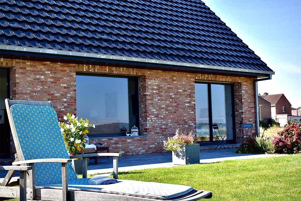 Construction d'une maison Cubique toit 4 pans à Fleurbaix